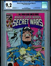 Secret Wars #7 CGC 9.2  Comic 1st Spider-Woman Marvel Super Heroes Amricons K19
