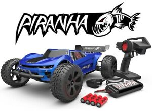 Redcat Racing Piranha TR10 1/10 Scale RTR Brushed Electric RC Truggy Blue NEW