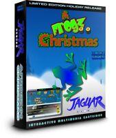 A FROGZ 64 CHRISTMAS Atari Jaguar LIMITED EDITION CARTRIDGE