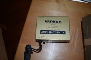 2 Vintage Varney AUTO RACE PACK TOY TRANSFORMER CIRCUIT 1 AND 2