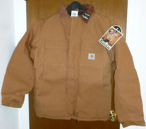 Carhartt® Original C03 Arctic Traditional Coat Quilt Lined Made in USA Size 34