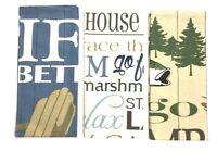 DII Design Imports Lake House Kitchen Dish Towels Set of 3 - Lake Theme