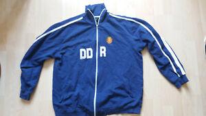 DDR Oldschool Trainingsjacke Retro Vintage 70er 80er Gr. L