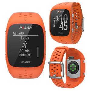 Polar Wrist Watch M430 Orange HRM GPS Sports Fitness Training Cycling Running