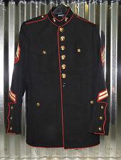 """USMC US MARINE CORPS DRESS BLUES JACKET 38 SHORT 38"""" CHEST"""