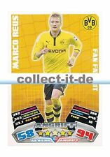 Match Attax 12/13 - 453 - MARCO REUS - Borussia Dortmund - Fan Favorit