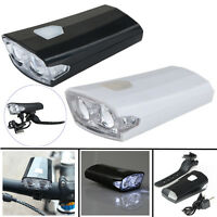 LED USB Rechargeable Bike Bicycle Front Light Ultra Bright Cycling Head Lamp