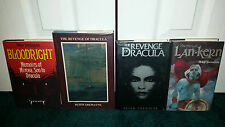 Peter Tremayne Revenge Of Dracula Signed Grant + Bloodright + Fires Of Lan-Kern