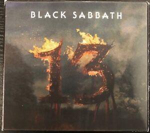 BLACK SABBATH '13' Deluxe Edition Digipak CD Lenticular Cover - 3 Bonus Tracks