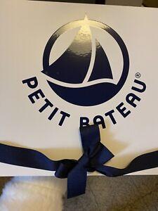 Petit Bateau Mütze u. Schuhe + Strampler u. Jäckchen wie neu!