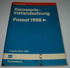 Werkstatthandbuch VW Passat 35i B3 Karosserie Instandsetzung ab Baujahr 1988!