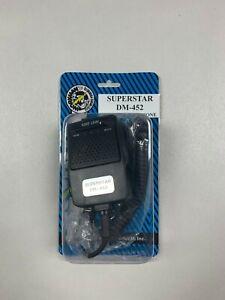 Workman DM452 Superstar CB Radio 4-Pin Echo Power Mic Microphone Cobra Galaxy+