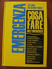 EMERGENZA COSA FARE  -Reader's digest- 463 pagine