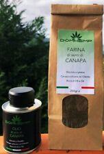 Olio di semi di Canapa (100ml) + Farina in omaggio (250gr)