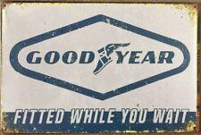 Goodyear  TYRES metal sign 20 x 30 cm free postage