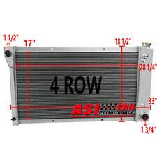 "4 ROW Aluminum Radiator For Chevy GMC Truck,Blazer 28"" Core 67 68 69 70 71 72"