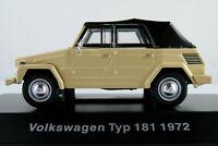 DeAGOSTINI #08 VW Typ 181 (1972) in hellbeige 1:43 NEU/PC-Vitrine