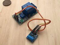 1 Piece Relay module vibration 12V sensor robot switch expansion N/C N/O C36