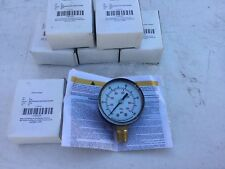 "NEW 4FLU1 Test Pressure 2"" Gauge 0 to 100 psi"