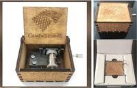 Game Of Thrones Stark Music Box Engraved Wooden Music Box Crafts Game Of Thrones