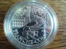france 10 euros argent 2011 franche-comté