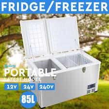 65L,80L,85L,110L,135L Portable Fridge Freezer 12V/24V/240V Camping Car Caravan