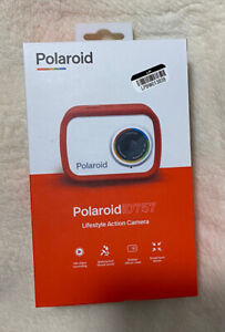 Polaroid iD757 (Red) Lifestyle Action Camera OPEN BOX TESTED WORKS