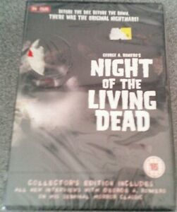 NIGHT OF THE LIVING DEAD*DVD*HORROR FILM*RATED 18*NEW*SEALED
