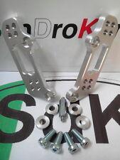 KIT ARRETRATORI PEDANE APRILIA RSV4 Silver Alluminio