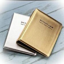 GOLD/ SILVER Memory Pocket Mini Photo Album for Fujifilm Instax Polaroid Camera
