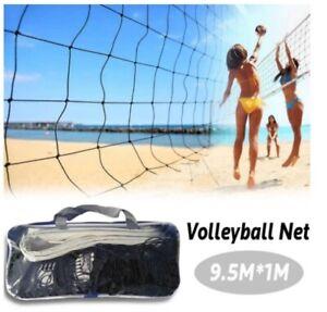 Rete da Pallavolo Beach Volley Portatile con Borsa misura Regolamentare 9,5 x 1