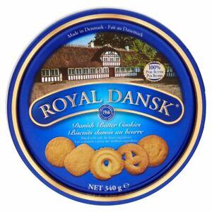ROYAL DANSK DANISH BUTTER COOKIES - 6 x 340g
