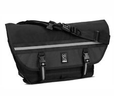 Chrome CITIZEN NIGHT SERIES All Black Seat-belt Buckle Laptop Messenger Bag