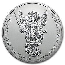 2016 Ukraine 1 oz Silver Archangel Michael BU - SKU #102735