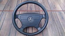 Mercedes Benz 55 000 miles Chrome Badge Steering wheel 390MM W124 W140 W202 W210