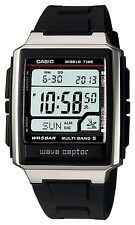 100% Authentic! CASIO WAVE CEPTOR MULTIBAND 5 WV-59J-1AJF Mens Watch New Japan