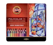 Artists' Coloured Pencil - Set of 24