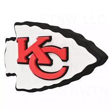 NFL Kansas City Chiefs 3D Foam Logo Magnet Offically Licensed