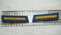 Civil War reenactors Collar Insignia 2nd LT - Infantry