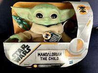 TALKING Baby Yoda! HASBRO Star Wars  Mandalorian The Child Plush - NEW!
