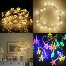 20-200LED Star Lights Battery Powered Fairy String Xmas Indoor Party Lamp Decor~