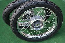 2x Simson Komplettrad S51 Schwalbe Star Stahlfelge Rad Felge Straßenreifen Sliks