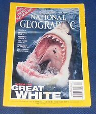 NATIONAL GEOGRAPHIC MAGAZINE APRIL 2000 - SHARKS/YEMEN/PLATYPUS/SAN PEDRO RIVER