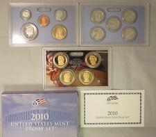 2010-S US MINT PROOF SET W/BOX&COA