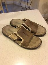 Mens Slip On Brown Shoe Bjorndal Size 10