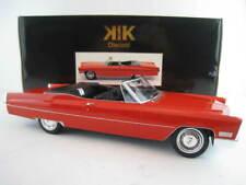 1968 Cadillac DeVille Convertible  in rot KK-Scale  Limitiert auf 750 Stück 1:18