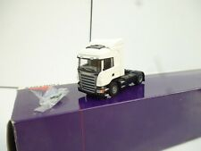 LION CAR// LION TOYS 1:50 DIECAST TOY SCANIA R-470 ONLY TRUCK  IN WHITE  NEW