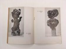 DUBUFFET Catalogue e Petites statues de la vie précaire Galerie Rive Gauche 1954