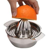 Stainless Steel Citrus Lemon Orange Squeezer Juicer Hand Manual Press Kitchen K
