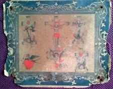 RARE ORIGINAL 1920-30s CLASSIC  BOWERY TATTOO FLASH SHEET